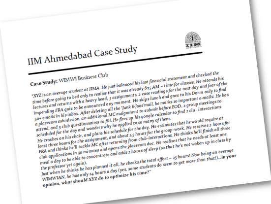 Scroll to the end of the post for the text of the case study