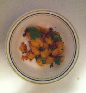 For the uninitiated, this is what most people would call 'Aloo Jeera'