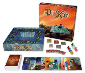 We met some friends to play this awesome boardgame called DiXit (image from http://saveandexit.com/the-board-game-dixit/) one of them is a regular at the BoardGameGeek con (BGG con)