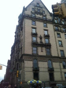 The Dakota - John Lennon's residence (his wife still stays here)