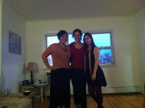 The hosts: (l to r) Tammy, Rachel, Nadja